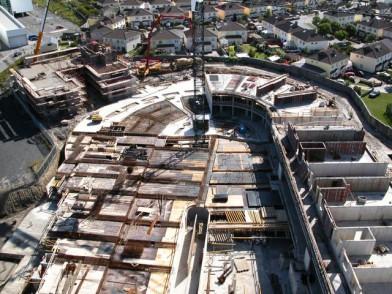 Claehall budowa