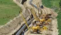 Gazociąg wys. ciśnienia, Dolny Śląsk